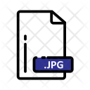 Jpg Document Extension Icon