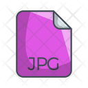 Jpg Image File Icon