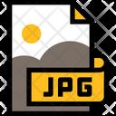 Jpg Image File Format Icon