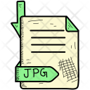 Jpg Document Format Icon
