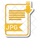 Jpg extension Icon