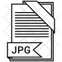 Jpg File Format Icon