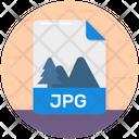 Jpg Jpg File File Format Icon
