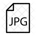 File Jpg Format Icon
