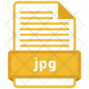 Jpg File Formats Icon