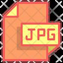 Jpg File Format File Icon