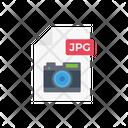 Jpg File Camera Icon