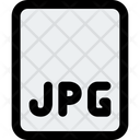Jpg File Jpg File Format Icon