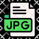 Jpg File Type File Format Icon