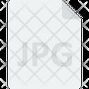 Jpg File File Format Web Image Icon