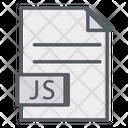 Java Script Coding Programming Icon