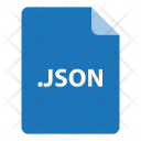 Json File Format Icon