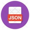 Json File Json Folder Json Document Icon