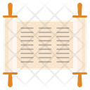 Judaism Torah Book Icon