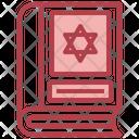 Judaism Book Icon
