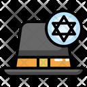 Judaism Cap Icon