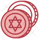 Judaism Coin Icon