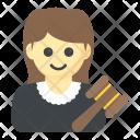 Prosecutor Judge Attorney Icon