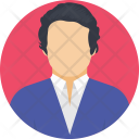Judge Judicial Person Icon