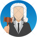 Judge Lawyer Magistrate Icon