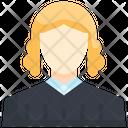 Judge Authority Legal Icon
