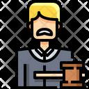 Judge Professional Profession Icon