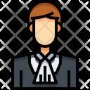 Jude Judge Services Man Icon