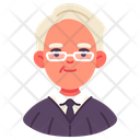 Judge Lawyer Person Icon