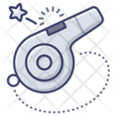 Referee Whistle Sports Icon