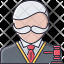 Judge Hammer Law Icon