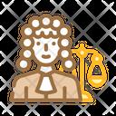 Judge Woman Job Icon