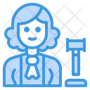 Judge Avatar Occupation Icon