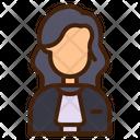 Judge Avatar Woman Icon