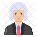 Court Judge Judge Magistrate Icon