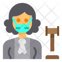 Judge Balance Occupation Icon