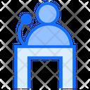 Judge Testimony Law Icon