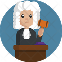 Judge Lawyer Profession Icon