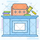 Judge Chair Icon