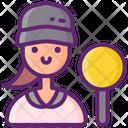 Judge Female Icon