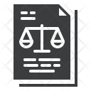 Judgement Order Court Icon
