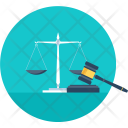 Judgement Law Justice Icon