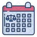 Judgement Date Court Date Justice Date Icon