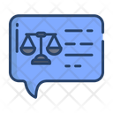 Judgement Message Law Message Law Icon