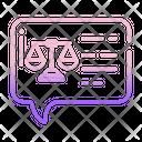 Judgement Message Icon