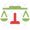 Judgment Law Court Icon