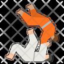 Judo Karate Kimono Icon