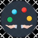 Juggler Conjuror Magician Icon