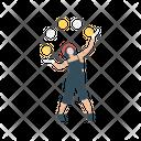 Juggling Circus Juggler Icon