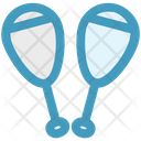 Circus Juggling Club Bowling Pins Icon