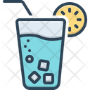 Juice Liquid Lemon Icon